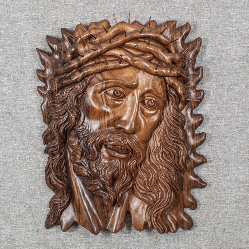 Wandrelief Jesus mit der...