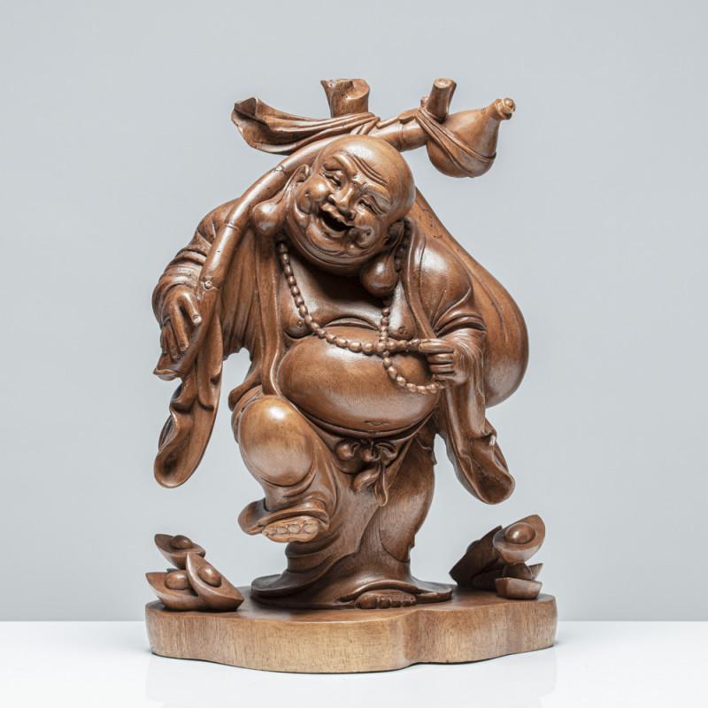 Glücksbuddha Wanderer