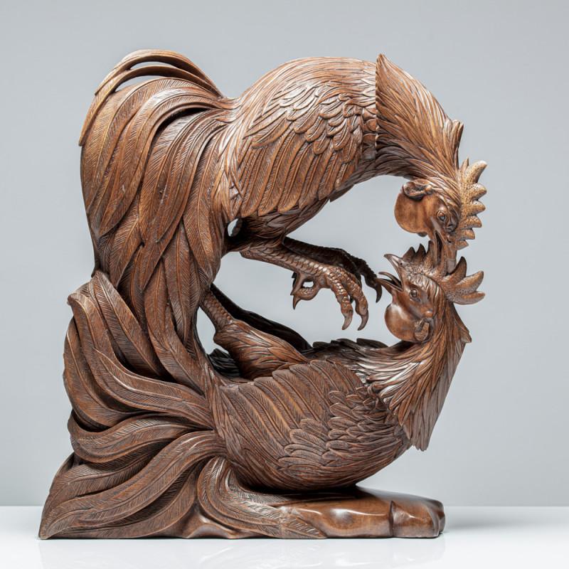 "Skulptur ""HAHNENKAMPF"" |..."