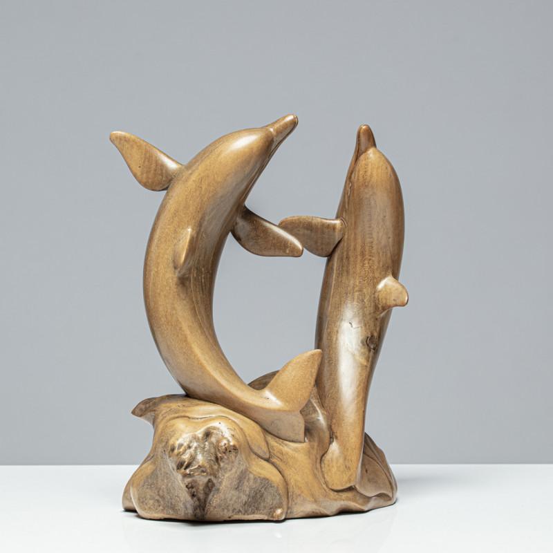 """Delfinskulptur """"LUCA & LINUS"""""""