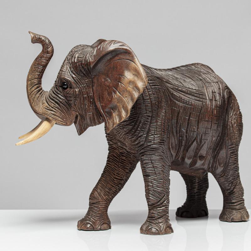 """Holzskulptur Elefant """"VILJA"""""""