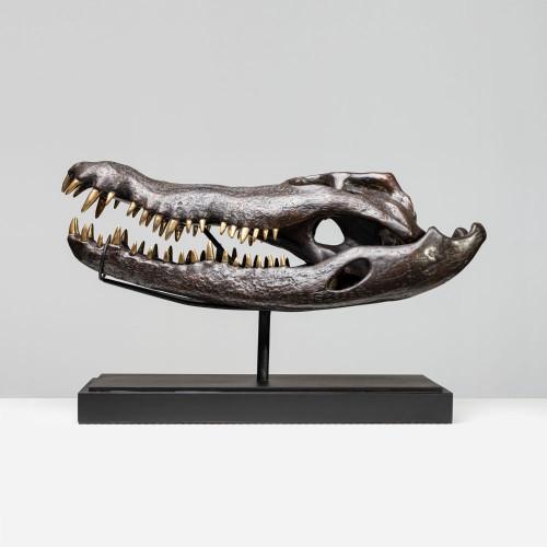"""Krokodil Skulptur """"DJEDI""""..."""
