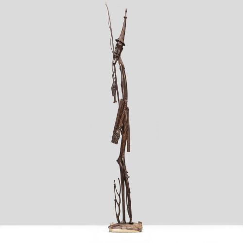 """Skulptur """"FISCHER"""" aus..."""
