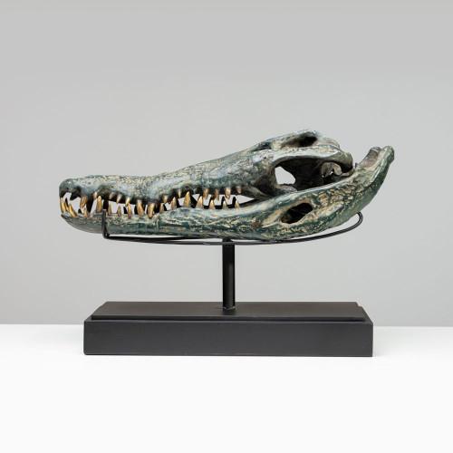 "Krokodil Skulptur ""SOBEK""..."