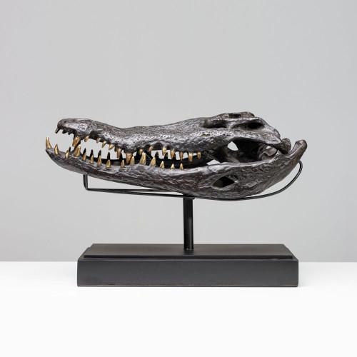 "Krokodil Skulptur ""SEBAK""..."