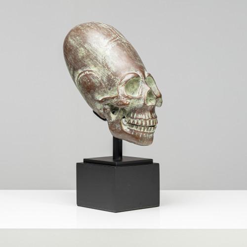 "Skulptur ""TURMSCHÄDEL""  aus..."