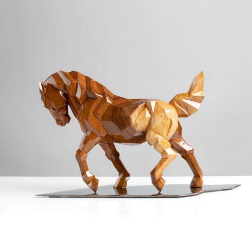 Pferdeskulptur | Vollholz |...