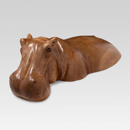 Badendes Flusspferd...