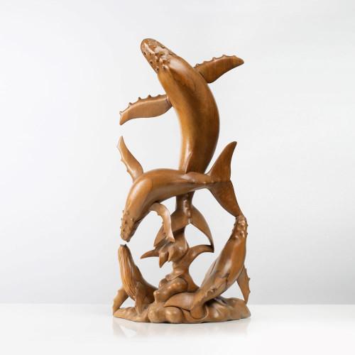 "Skulptur ""WALFAMILIE"""