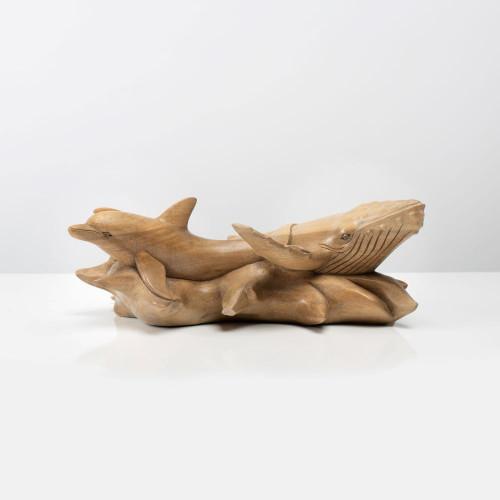 """Skulptur """"WAL und DELFIN"""""""