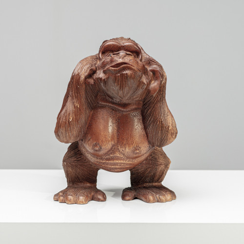 "Skulptur ""KIKAZARU"" Affe |..."
