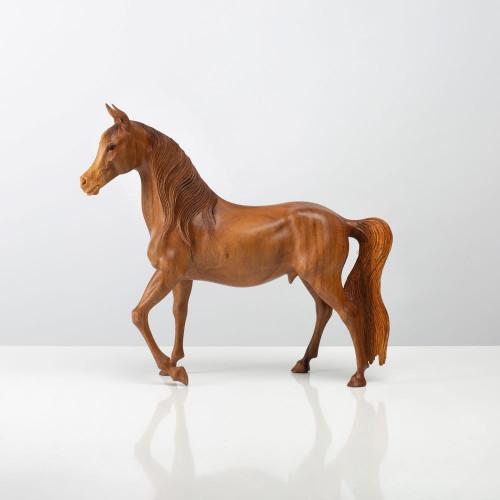 Skulptur Pferd | Vollholz...