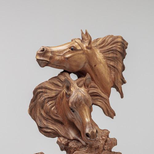 "Skulptur ""PFERDE TRIO"" |..."