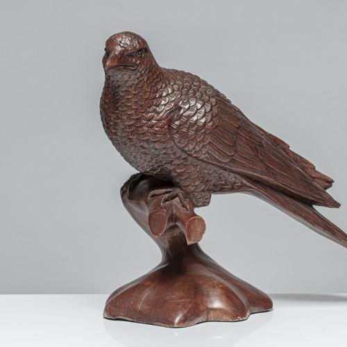 Vogelskulptur | Vollholz