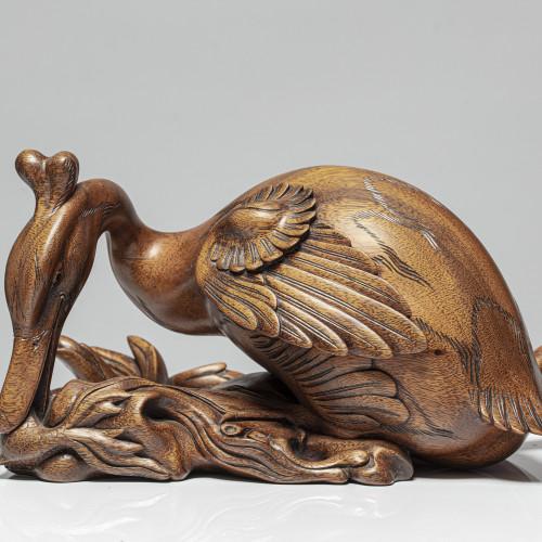 """Skulptur """"HAUBENTAUCHER"""""""