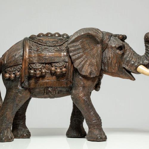 """Holzskulptur Elefant """"PHINDA"""""""