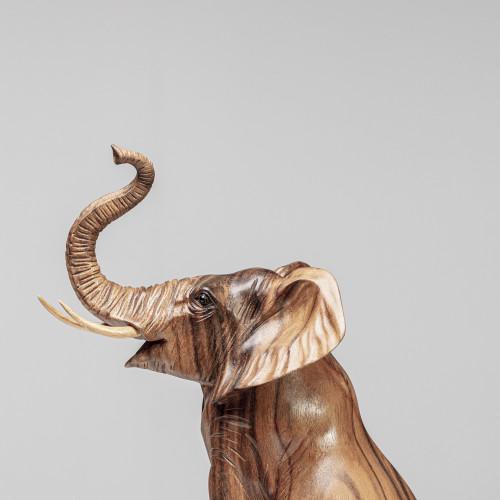 Holzskulptur Elefant...