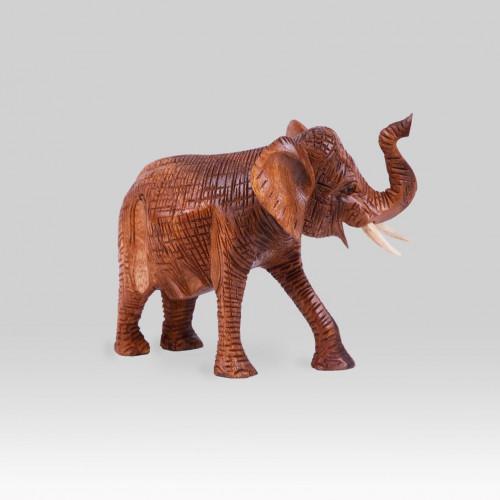 """Holzskulptur Elefant """"LONI"""""""