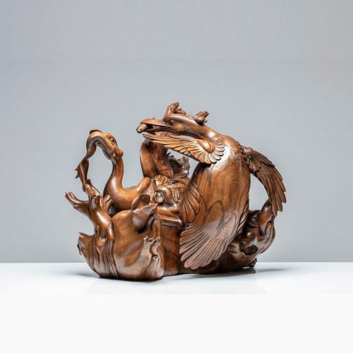 """Skulptur """"HAUBENTAUCHERMAHL"""""""