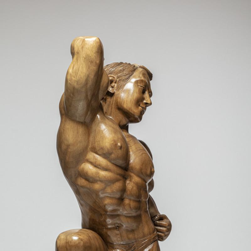 """Skulptur """"ATHLET"""""""