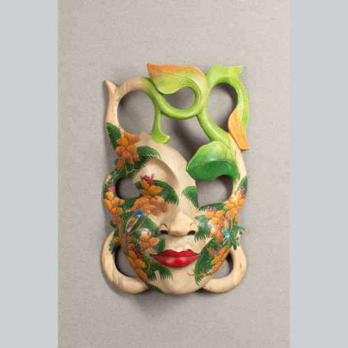 "Holzmaske ""JUNGLE"" 