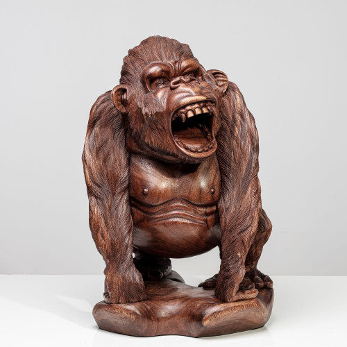 "Gorilla Skulptur ""GAVA"" |..."