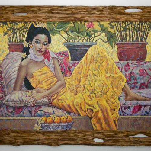 """Gemälde """"LE REPOS"""" 177x138"""