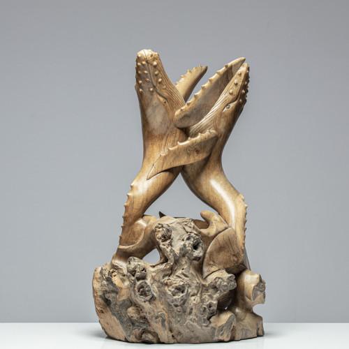 "Walskulptur ""FELIAN & FICO"""