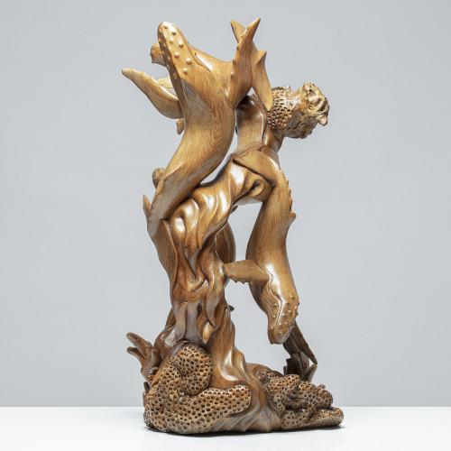 "Walskulptur ""KORE & KOSMAS"""
