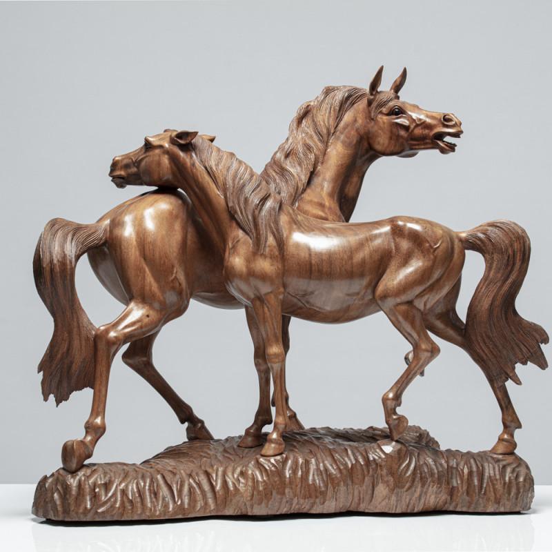 sinnliches Pferdepaar