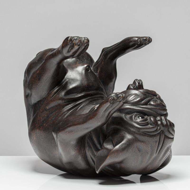 """Skulptur """"MOPS FORTUNÉ"""""""