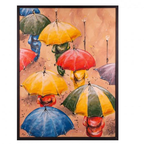 """Gemälde """"Regenschirm"""" 94x63"""