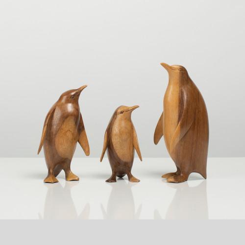 "Holzfigur ""Pinguin"""