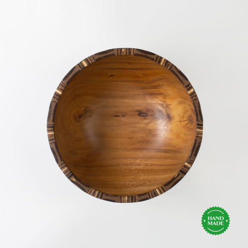 "Salatschüssel ""INJAM"" aus Holz"
