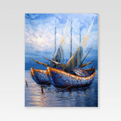 """Gemälde """"SONNENUNTERGANG""""..."""