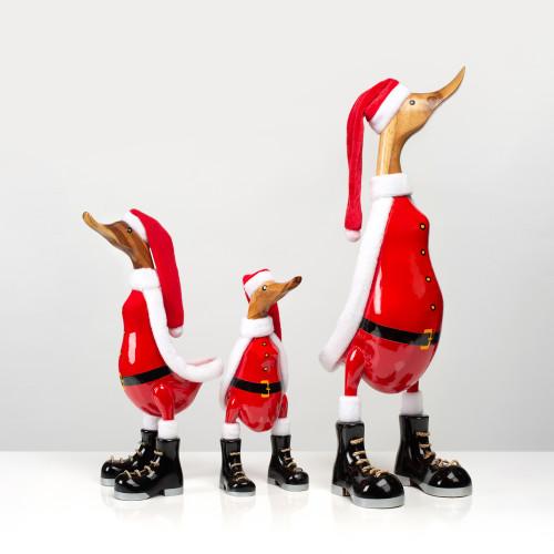 """Holzente """"Santa""""..."""